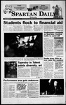 Spartan Daily, September 8, 1999 by San Jose State University, School of Journalism and Mass Communications