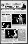 Spartan Daily, November 3, 1999 by San Jose State University, School of Journalism and Mass Communications