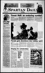 Spartan Daily, December 6, 1999 by San Jose State University, School of Journalism and Mass Communications