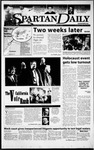 Spartan Daily, February 14, 2000 by San Jose State University, School of Journalism and Mass Communications