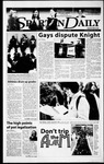 Spartan Daily, February 25, 2000 by San Jose State University, School of Journalism and Mass Communications