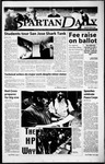 Spartan Daily, March 2, 2000 by San Jose State University, School of Journalism and Mass Communications