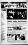 Spartan Daily, March 8, 2000 by San Jose State University, School of Journalism and Mass Communications
