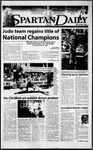Spartan Daily, March 22, 2000 by San Jose State University, School of Journalism and Mass Communications