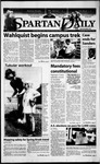 Spartan Daily, March 23, 2000 by San Jose State University, School of Journalism and Mass Communications