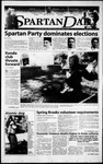 Spartan Daily, April 4, 2000 by San Jose State University, School of Journalism and Mass Communications