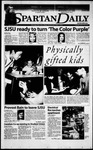 Spartan Daily, April 5, 2000 by San Jose State University, School of Journalism and Mass Communications