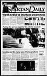 Spartan Daily, April 7, 2000 by San Jose State University, School of Journalism and Mass Communications