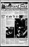 Spartan Daily, April 10, 2000 by San Jose State University, School of Journalism and Mass Communications