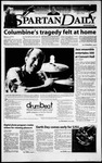 Spartan Daily, April 20, 2000 by San Jose State University, School of Journalism and Mass Communications