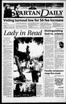 Spartan Daily, May 4, 2000 by San Jose State University, School of Journalism and Mass Communications