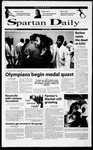 Spartan Daily, September 7, 2000 by San Jose State University, School of Journalism and Mass Communications