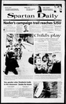 Spartan Daily, September 14, 2000 by San Jose State University, School of Journalism and Mass Communications