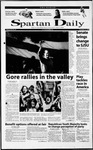 Spartan Daily, September 21, 2000 by San Jose State University, School of Journalism and Mass Communications