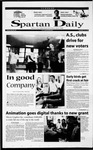 Spartan Daily, September 26, 2000 by San Jose State University, School of Journalism and Mass Communications