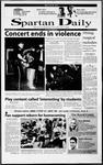 Spartan Daily, October 16, 2000