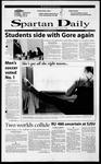 Spartan Daily, October 18, 2000