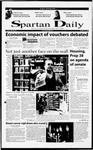 Spartan Daily, October 19, 2000