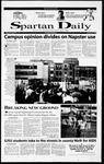 Spartan Daily, October 23, 2000