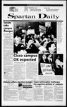 Spartan Daily, October 25, 2000