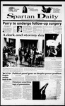 Spartan Daily, October 27, 2000 by San Jose State University, School of Journalism and Mass Communications