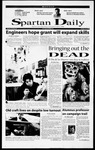 Spartan Daily, October 30, 2000 by San Jose State University, School of Journalism and Mass Communications