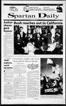 Spartan Daily, November 1, 2000