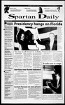 Spartan Daily, November 9, 2000 by San Jose State University, School of Journalism and Mass Communications
