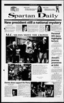Spartan Daily, November 10, 2000 by San Jose State University, School of Journalism and Mass Communications