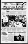 Spartan Daily, November 13, 2000 by San Jose State University, School of Journalism and Mass Communications