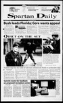 Spartan Daily, November 15, 2000 by San Jose State University, School of Journalism and Mass Communications
