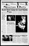 Spartan Daily, November 20, 2000 by San Jose State University, School of Journalism and Mass Communications