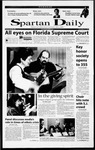 Spartan Daily, November 21, 2000 by San Jose State University, School of Journalism and Mass Communications