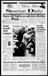 Spartan Daily, November 29, 2000 by San Jose State University, School of Journalism and Mass Communications