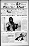 Spartan Daily, December 1, 2000 by San Jose State University, School of Journalism and Mass Communications