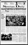Spartan Daily, December 4, 2000