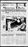 Spartan Daily, December 5, 2000 by San Jose State University, School of Journalism and Mass Communications