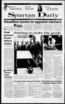 Spartan Daily, December 8, 2000