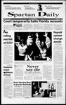 Spartan Daily, December 11, 2000 by San Jose State University, School of Journalism and Mass Communications