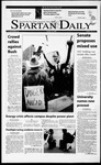 Spartan Daily, January 24, 2001 by San Jose State University, School of Journalism and Mass Communications
