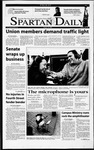 Spartan Daily, January 26, 2001 by San Jose State University, School of Journalism and Mass Communications