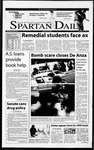 Spartan Daily, January 31, 2001 by San Jose State University, School of Journalism and Mass Communications