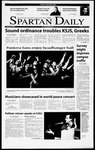 Spartan Daily, February 8, 2001 by San Jose State University, School of Journalism and Mass Communications