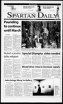 Spartan Daily, February 12, 2001 by San Jose State University, School of Journalism and Mass Communications