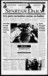 Spartan Daily, February 15, 2001 by San Jose State University, School of Journalism and Mass Communications