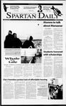 Spartan Daily, February 20, 2001 by San Jose State University, School of Journalism and Mass Communications