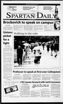 Spartan Daily, February 21, 2001 by San Jose State University, School of Journalism and Mass Communications
