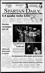 Spartan Daily, February 26, 2001 by San Jose State University, School of Journalism and Mass Communications