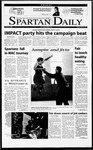 Spartan Daily, March 9, 2001 by San Jose State University, School of Journalism and Mass Communications