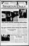 Spartan Daily, March 19, 2001 by San Jose State University, School of Journalism and Mass Communications